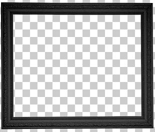 Black And White Chessboard Square Pattern PNG