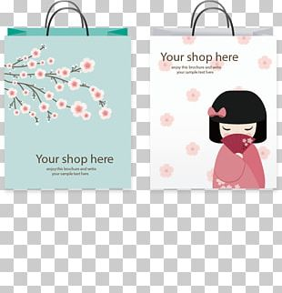 Paper Shopping Bag Template PNG