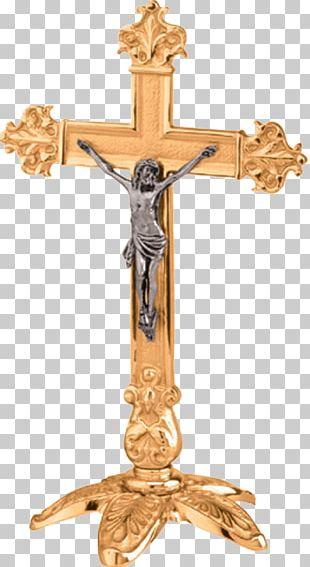 Altar Crucifix Altar Crucifix Bronze Church PNG