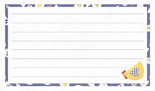 Paper Letterhead Document PNG