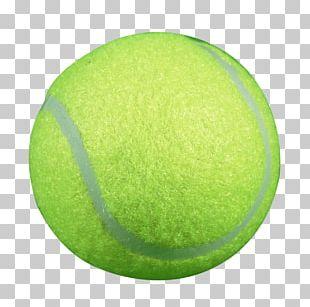 Green Tennis Ball Circle PNG