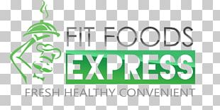Logo Raw Foodism Fit Food Express Meal Delivery Service PNG