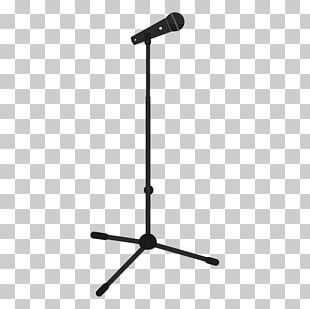 Microphone Music Silhouette PNG