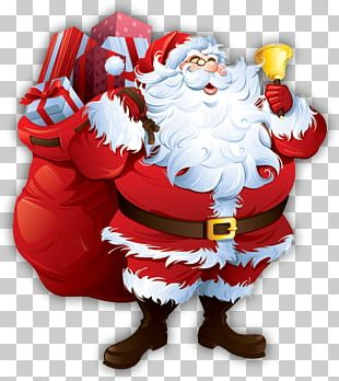 Santa Claus Père Noël Christmas Day Ded Moroz Gift PNG