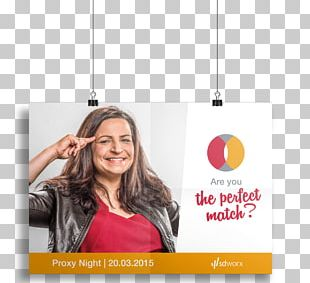 The Perfect Match Advertising Campaign Poster Mockup PNG