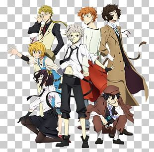 Bungo Stray Dogs Anime Manga Drawing PNG