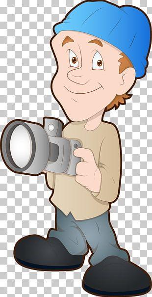 Cartoon Photographer Photography Drawing PNG