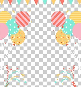 Party Hat Carnival Balloon Birthday PNG