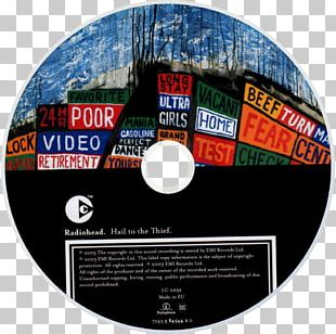 Hail To The Thief Radiohead The King Of Limbs Phonograph Record Compact Disc PNG