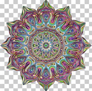 Mandala Paper Meditation Pattern PNG