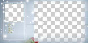 Template Blue Pattern PNG