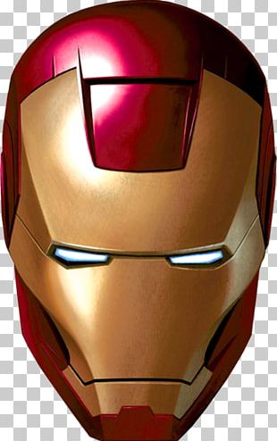 The Iron Man Mask PNG
