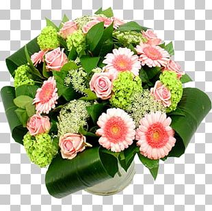 Flower Bouquet Cut Flowers Rose Red PNG
