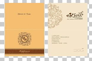Mooncake Mid-Autumn Festival Greeting Card Traditional Chinese Holidays National Day Of The Peoples Republic Of China PNG