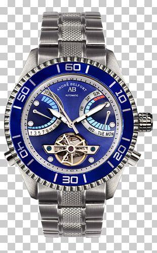 Belfort Sailing Ship Watch Steel Clock PNG