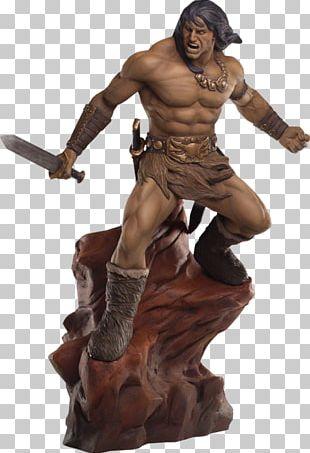 Conan The Barbarian Figurine Statue Sculpture PNG