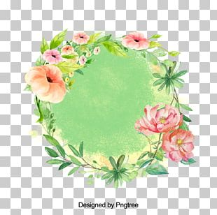 Floral Design Watercolor Painting Flower PNG