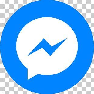 Logo Facebook Messenger Telegram Instant Messaging Chatbot PNG