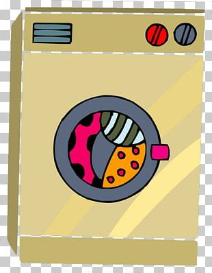 Washing Machine Cartoon Home Appliance PNG