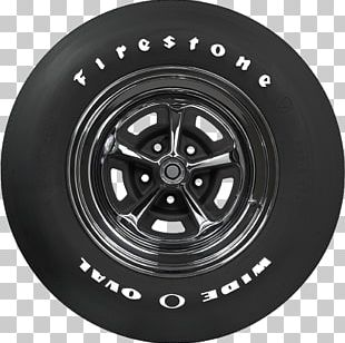 Car Firestone Tire And Rubber Company Coker Tire Whitewall Tire PNG