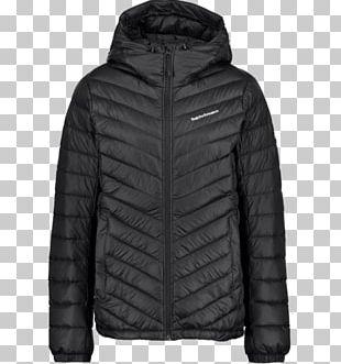 Down Feather Jacket Coat Hood Daunenjacke PNG