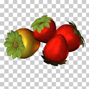 Strawberry Natural Foods Accessory Fruit Diet Food PNG