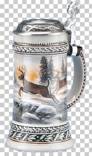 Beer Mug Winter Theme PNG