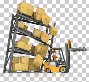 Forklift Machine Vehicle Driving Warehouse PNG