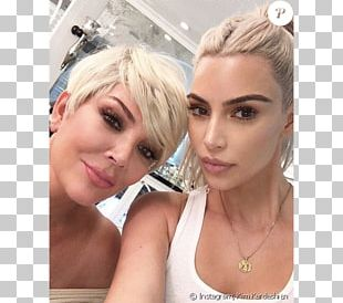 Kris Jenner Kim Kardashian Keeping Up With The Kardashians Blond Celebrity PNG