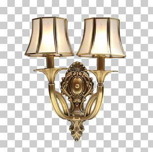 Light Fixture Sconce Lamp PNG