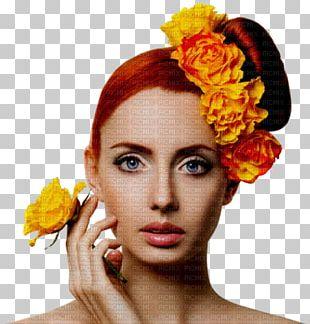 Artificial Flower Woman Desktop PNG