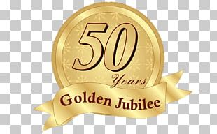 Golden Jubilee Badge PNG