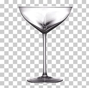 Martini Cocktail Wine Glass Stemware PNG