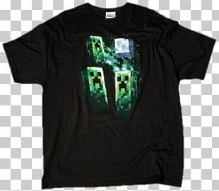 Minecraft Three Creeper Moon Extra Large T-Shirt Black (GE1143XL) Minecraft Three Creeper Moon Extra Large T-Shirt Black (GE1143XL) Jinx Clothing PNG