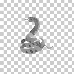 Snake Chinese Zodiac Ink Wash Painting Drawing Ox PNG