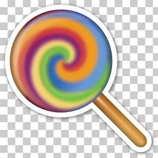 Lollipop Emoji Sticker Smiley IPhone PNG