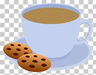 Tea Chocolate Chip Cookie Coffee Biscuit PNG