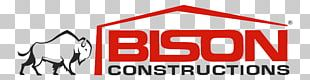Bison Constructions Architectural Engineering Building Industry Graphic Design PNG