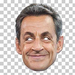 Nicolas Sarkozy Domino Mask President Of France PNG