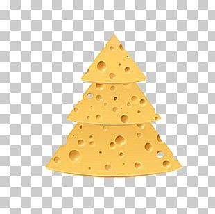 Christmas Tree Cheese PNG