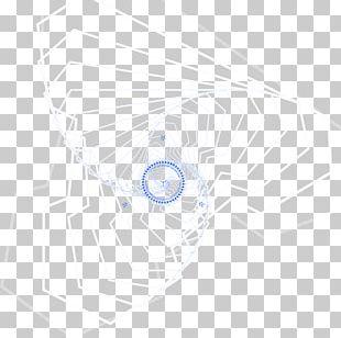 White Circle Pattern PNG