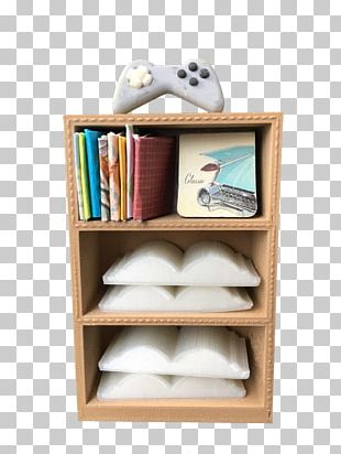 Shelf Bookcase Furniture Table PNG