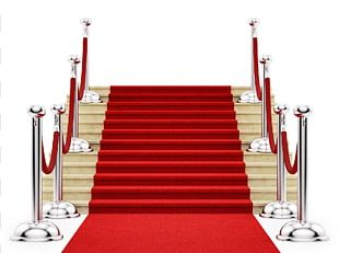 Stairs Red Carpet Stock Photography PNG