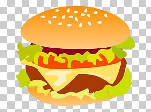 Cheeseburger Hamburger McDonald's Big Mac Veggie Burger Fast Food PNG
