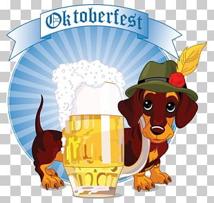 Dachshund Oktoberfest Stock Illustration Illustration PNG