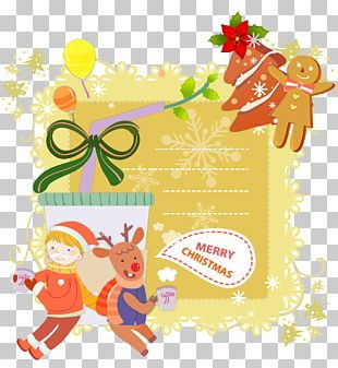 Christmas Postcard Greeting Card Mail Santa Claus PNG