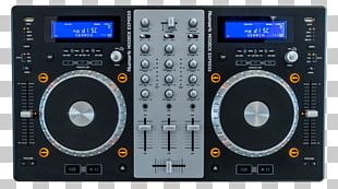 DJ Controller Disc Jockey Virtual DJ Audio Mixers PNG