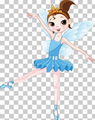 Tooth Fairy Ballet Dancer Illustration PNG