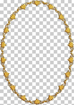 Body Jewellery Necklace Gold Chain PNG