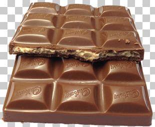 Chocolate Bar Praline Milk Fudge PNG